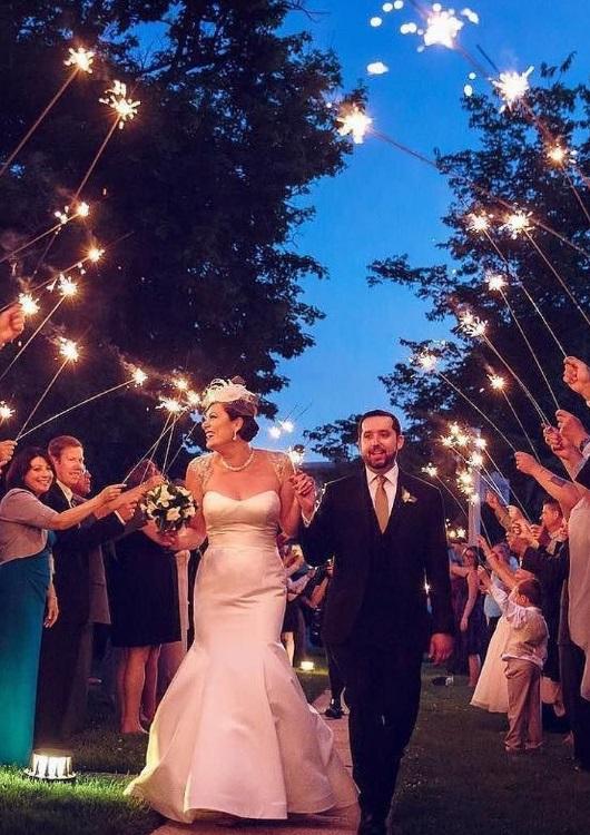 Sparklers For Wedding.Long Wedding Sparklers